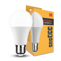 KODAK Max LED Izzó Globe A60 12W E27 270° 6000K (1055 lumen)