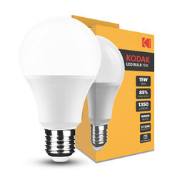 KODAK Max LED Izzó Globe A65 15W E27 270° 2700K (1350 lumen)