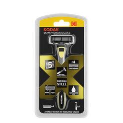 Kodak Borotva Készülék ULTRA Premium 5 pengés fém + 4 pótfej