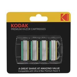 Kodak Borotva Készülék Pótfej Szett ULTRA Premium (4 darab)