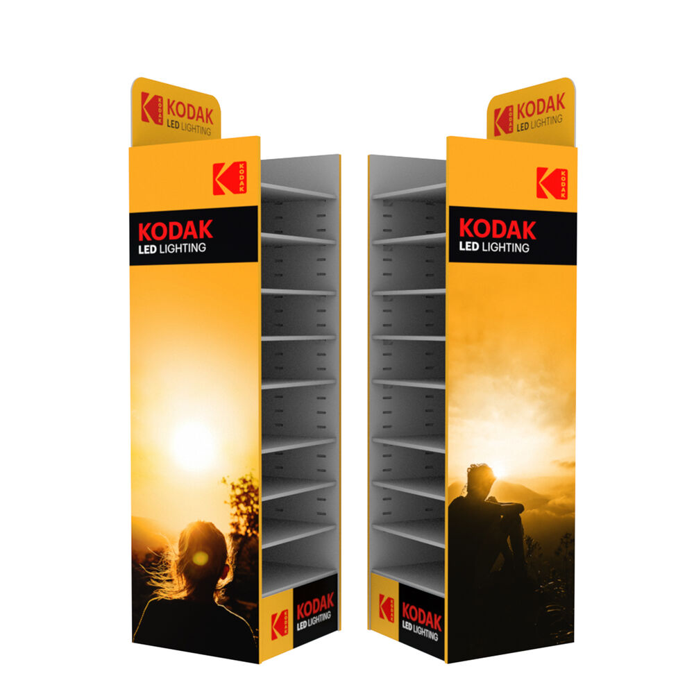LED Display KODAK karton (140x39x39cm) üres