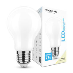 Modee Lighting LED Izzó Filament Milky A60 8W E27 360° 4000K (1055 lumen)
