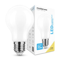 Modee Lighting LED Izzó Filament Milky A60 8W E27 360° 2700K (1055 lumen)