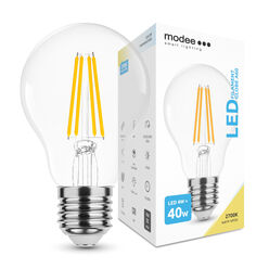 Modee Lighting LED Izzó Filament A60 4W E27 360° 2700K (470 lumen)