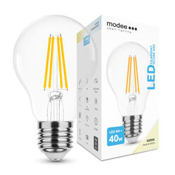 Modee Lighting LED Izzó Filament A60 4W E27 360° 4000K (470 lumen)