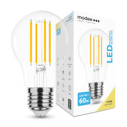 Modee Lighting LED Izzó Filament A60 7W E27 360° 2700K (760 lumen)