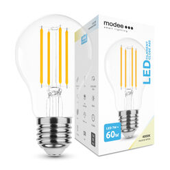 Modee Lighting LED Izzó Filament A60 7W E27 360° 4000K (760 lumen)