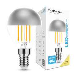 Modee Lighting LED Izzó Filament G.Mini P45 Silver Top 4W E14 320° 2700K