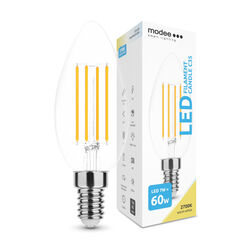 Modee Lighting LED Izzó Filament Candle C35 7W E14 360° 2700K (806 lumen)