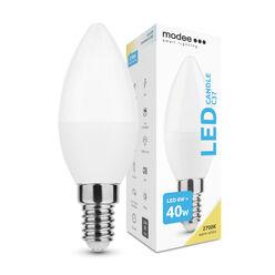 Modee Lighting LED Izzó Gyertya (Candle) 6W E14 200° 2700K (470 lumen)