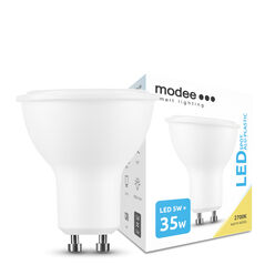 Modee Lighting LED Izzó Spot Alu-Plastic 5W GU10 110° 2700K (400 lumen)