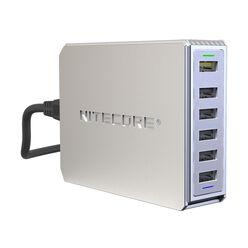 Nitecore Kellék Akkumulátor Töltő USB Elosztó 6 Csatornás UA66Q