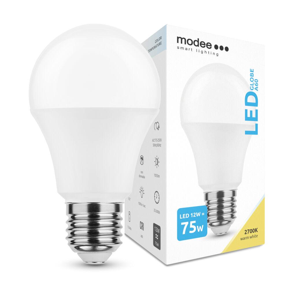 Modee Lighting LED Izzó Globe A60 12W E27 270° 2700K (1055 lumen)