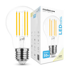 Modee Lighting LED Izzó Filament A60 6W E27 360° 4000K (600 lumen)