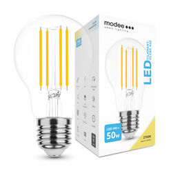 Modee Lighting LED Izzó Filament A60 6W E27 360° 2700K (600 lumen)