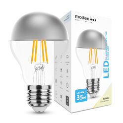 Modee Lighting LED Izzó Filament A60 Silver Top 4W E27 320° 4000K