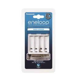Panasonic Eneloop USB Basic Akkutöltő üres (600min)