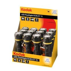 Kodak Elemlámpa Robust 15 DISPLAY 12-darab