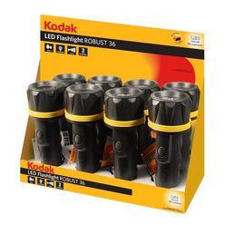 Kodak Elemlámpa Robust 36 DISPLAY 8-darab