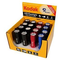 Kodak Elemlámpa 9 x LED (+3AAA) DISPLAY 16-darab