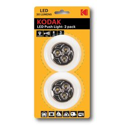 Kodak Elemlámpa Push Light LED 2pack (30 lumen)
