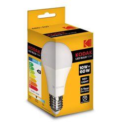 Kodak LED Izzó Globe A60 10W E27 270° 6000K (806 lumen)