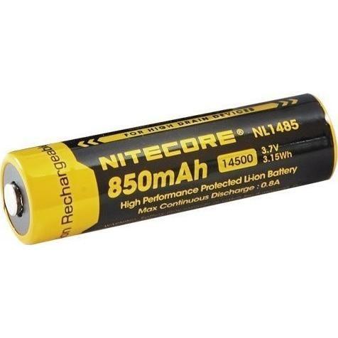 Nitecore Kellék Akkumulátor 14500 NL1485 3,7V 850mAh