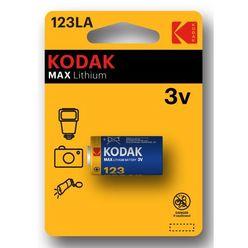Kodak Ultra Lithium Fotó Elem CR123 (3V) B1