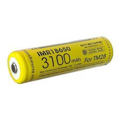 Nitecore Kellék Akkumulátor 18650 IMR 3100mAh TM28-hoz