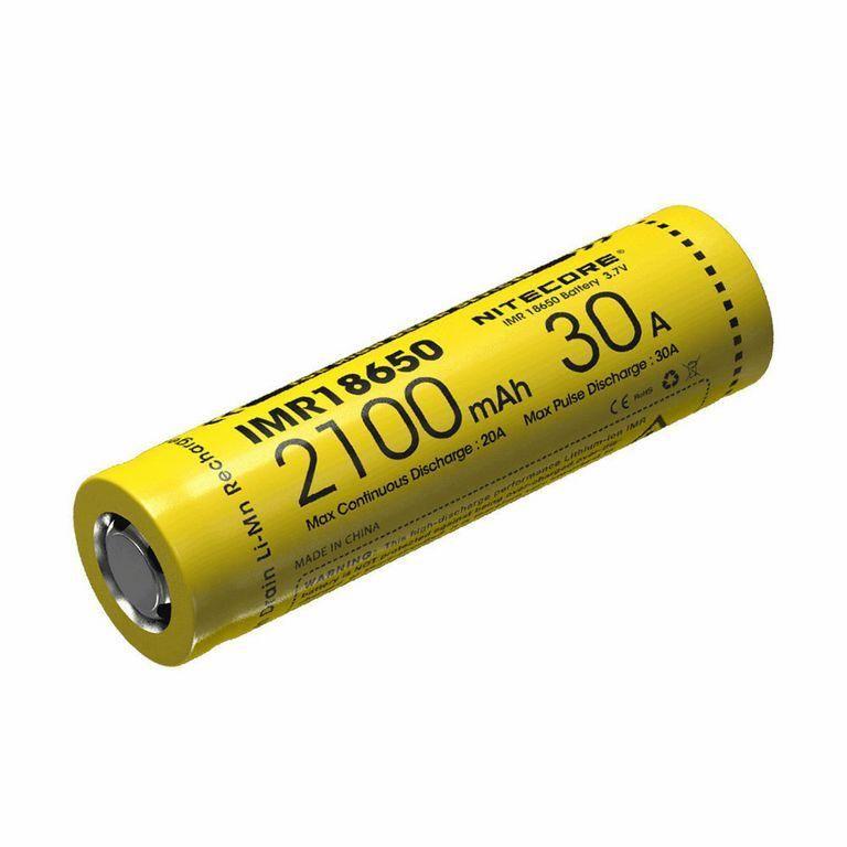 Nitecore Kellék Akkumulátor 18650 IMR 2100mAh/30A