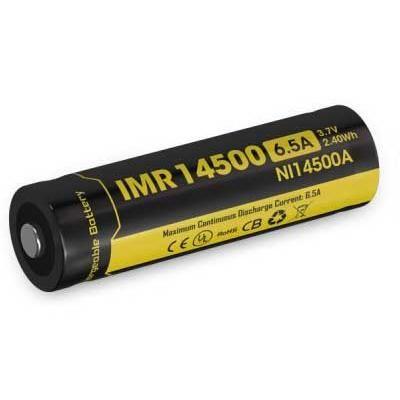 Nitecore Kellék Akkumulátor 14500 IMR 650mAh