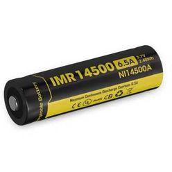 Nitecore Kellék Akkumulátor 14500 IMR 650mAh 3,7V B1