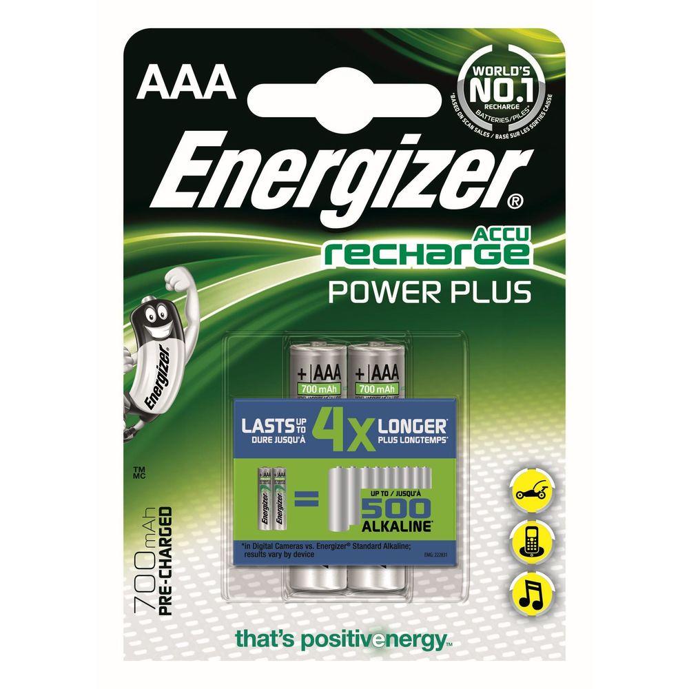 Energizer Akkumulátor Power Plus R2U Mikro 700mAh AAA B2