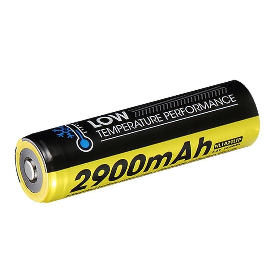 Nitecore Kellék Akkumulátor 18650 NL1829LTP 2900mAh (-40°) 4A 3,6V B1