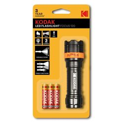 Kodak Elemlámpa Focus 120 LED (+3 x AAA)