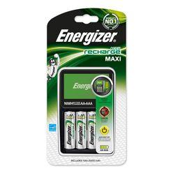 Energizer Akkumulátor Töltő MAXI + 4db 2000mAh R2U AA