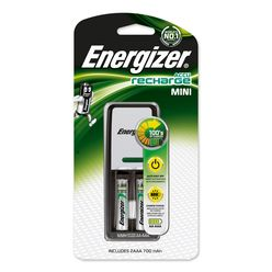 Energizer Akkumulátor Töltő MINI + 2db 700mAh R2U AAA
