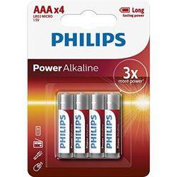 Philips Power Alkáli Mikro Elem AAA B4