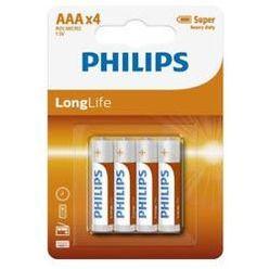 Philips Longlife Féltartós Mikro Elem AAA B4