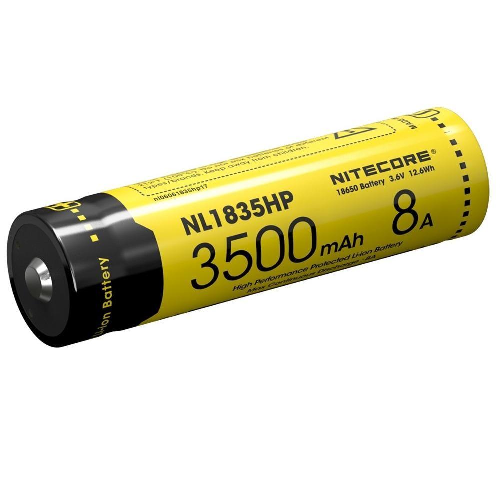 Nitecore Kellék Akkumulátor 18650 NL1835HP 3500mAh 8A