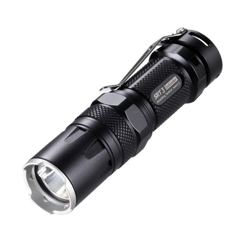 Nitecore Elemlámpa SRT3 (1xCR123) CREE XM-L2 T6 (550 lumen) Fekete