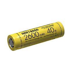 Nitecore Kellék Akkumulátor 18650 IMR 2600mAh 40A B1