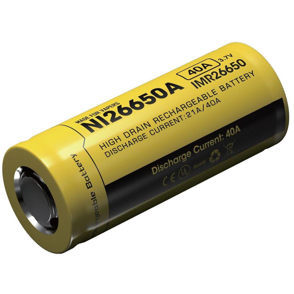 Nitecore Kellék Akkumulátor 26650 IMR 4200mAh/40A