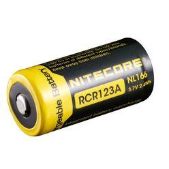Nitecore Kellék Akkumulátor 16340 RCR123 NL166 650mAh 3,7V B1