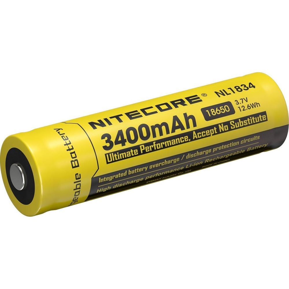 Nitecore Kellék Akkumulátor 18650 NL1834 3400mAh