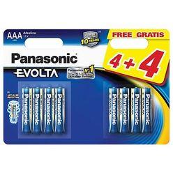 Panasonic Evolta Alkáli Elem Mikro AAA (LR03EGE/44BP) B4+4