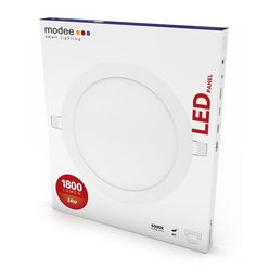 Modee Smart Lighting LED Panel Kerek - Beépíthető 24W 6000K (1800 lumen)