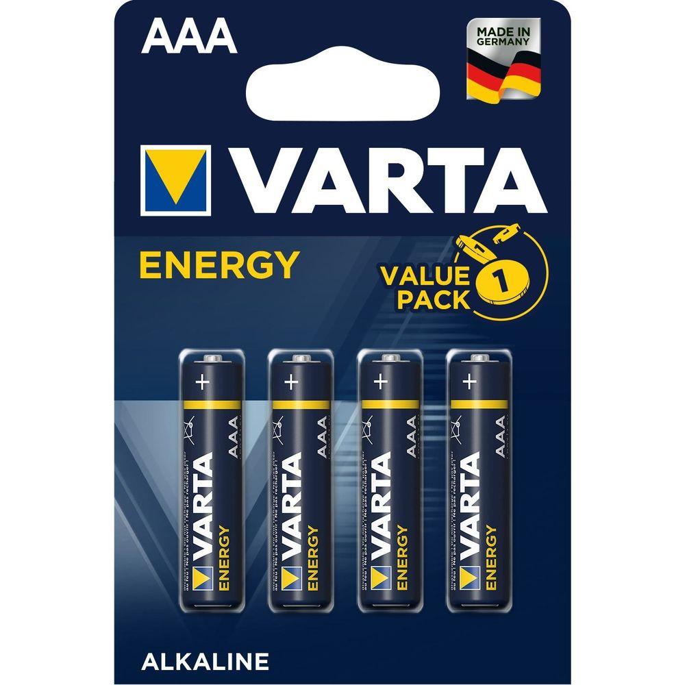 Varta Energy Alkáli Mikro Elem AAA B4