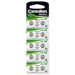 Camelion Gombelem Alkáli AG8 / LR55 / LR1121 / 391 B10