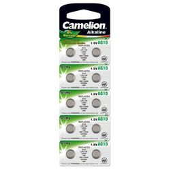 Camelion Gombelem Alkáli AG10 / LR54 / LR1131 / 389 B10